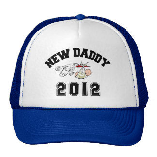 Funny New Daddy 2012 Hat