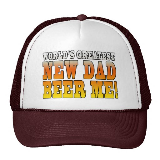 Funny New Fathers : Worlds Greatest New Dad Trucker Hats