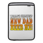 Funny New Fathers : Worlds Greatest New Dad Sleeves For MacBook Air