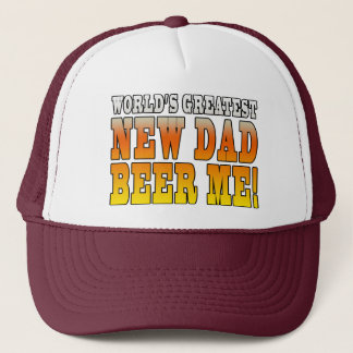 Funny New Fathers : Worlds Greatest New Dad Trucker Hat