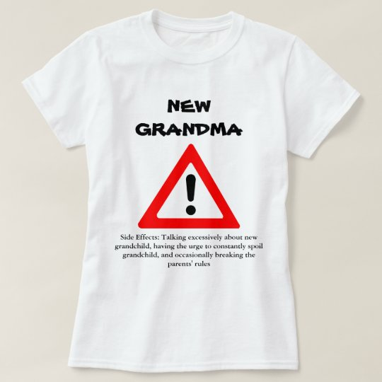 c7d20d50de Funny New Grandma Shirt | Zazzle.com