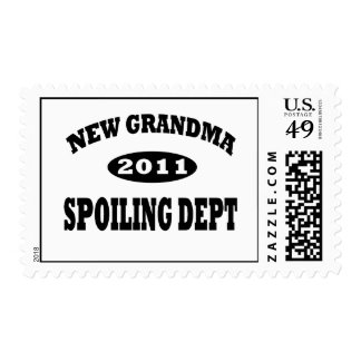 Funny New Grandma Spoiling Department Postage Stamp