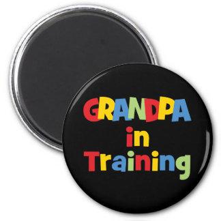 Funny New Grandpa Gift Fridge Magnet