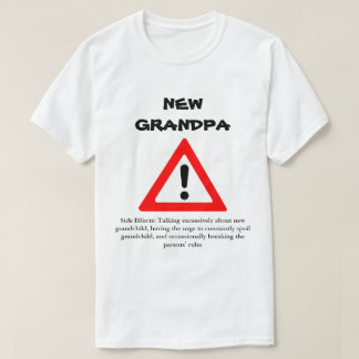 Funny New Grandpa Shirt