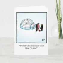 Funny New Home Congratulations Card