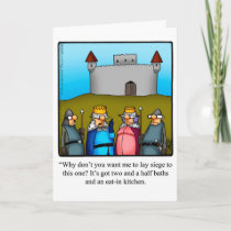 """Funny New Home Congratulations Card """"Spectickles"""""""