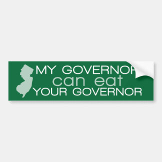 Funny New Jersey - Chris Christie Bumper Sticker