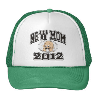 Funny New Mom 2012 Mesh Hat