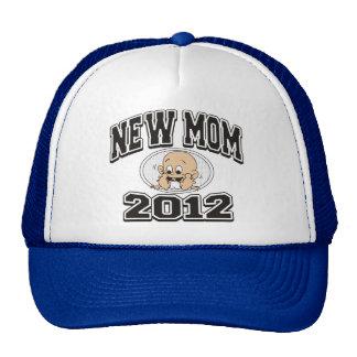 Funny New Mom 2012 Hats