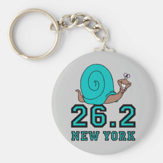 Funny New York marathon Key Chain