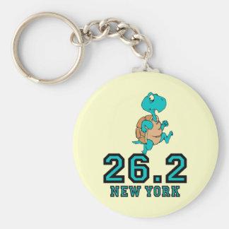 Funny New York marathon Key Chains