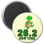 Funny New York marathon Refrigerator Magnet