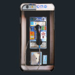 "Funny New York Public Pay Phone Photograph Tough iPhone 6 Case<br><div class=""desc"">Funny New York public pay phone photograph. A cool urban design with a retro street payphone phone booth image.</div>"