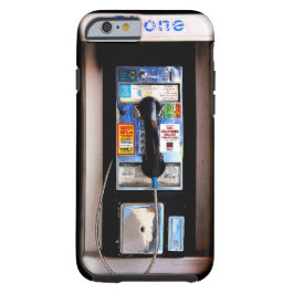 Funny New York Public Pay Phone Photograph
