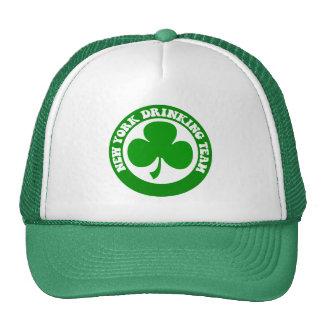 Funny New York St Patrick's Day Trucker Hats