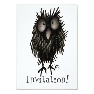 Funny Night Owl Card