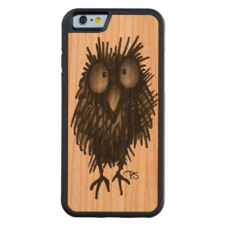 Funny Night Wood Owl Carved® Cherry iPhone 6 Bumper Case
