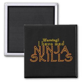Funny Ninja Joke Magnets