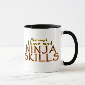 Funny Ninja Joke Mugs