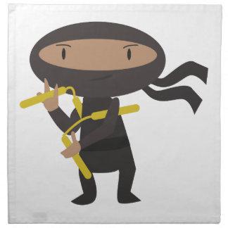 Funny Ninja Napkin