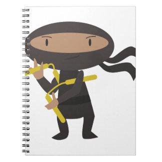 Funny Ninja Notebook