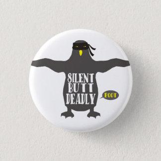 Funny ninja penguin silent but deadly fart button