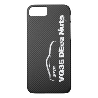 Funny Nissan 350z VQ35 DEez Nuts iPhone 7 Case