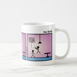 Funny No Bulb Stickman Mug - 021