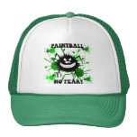 Funny no fear paintball hat