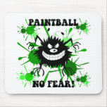 Funny no fear paintball mouse mats