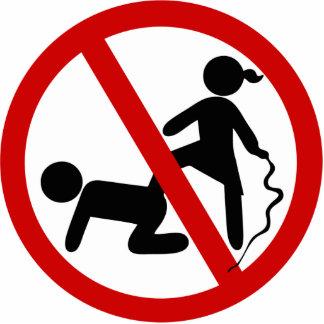 Funny NO Femdom ⚠ Thai Sign ⚠ Cutout