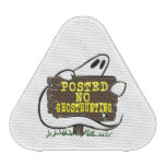 Funny No Ghost Hunting Sign Bluetooth Speaker
