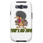 funny no jive turkey cartoon galaxy s3 cases