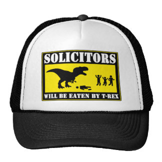 Funny No Soliciting Trucker Hat