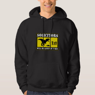 Funny No Soliciting Hoodie