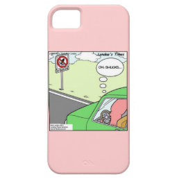 Funny No Squid Zone iPhone 5/5S Case