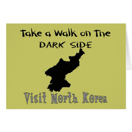 Funny North Korea T-shirts and Gifts Card