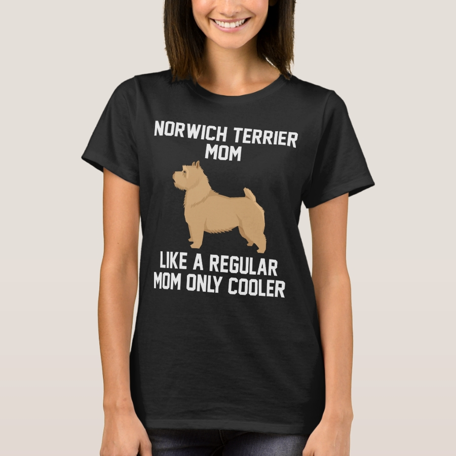 Funny Norwich Terrier Mom T-Shirt - Best Selling Long-Sleeve Street Fashion Shirt Designs