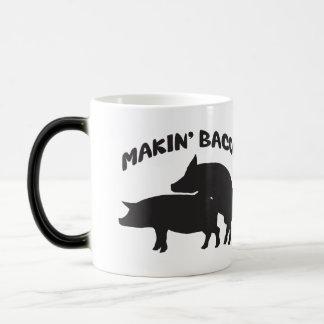 Funny novelty bacon mug