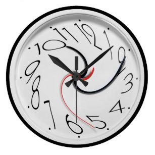 Funny Wall Clocks Zazzle