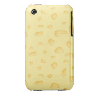funny novely swiss cheese pattern Case-Mate iPhone 3 case