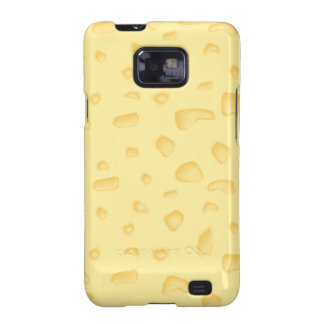 funny novely swiss cheese pattern samsung galaxy SII cases