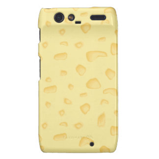 funny novely swiss cheese pattern motorola droid RAZR covers