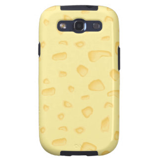 funny novely swiss cheese pattern galaxy s3 covers