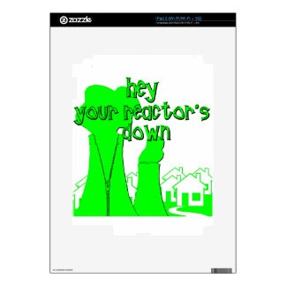 Funny Nuclear Decal For iPad 2