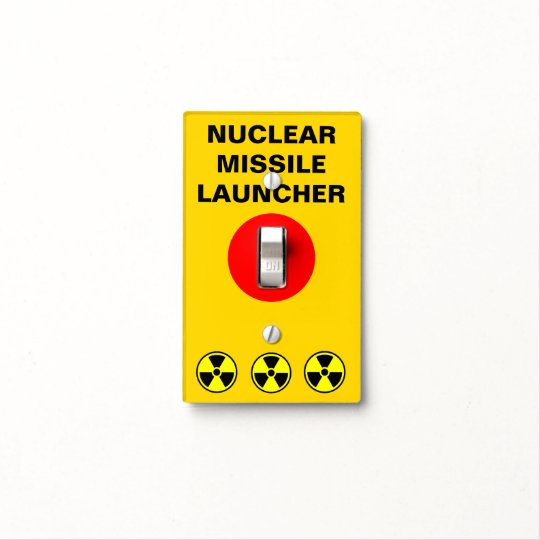 Funny Nuclear Option Light Switch Cover