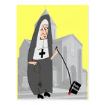 Funny Nun Greeting Cards Postcards