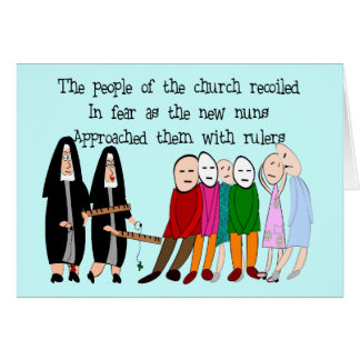 Funny Nuns Cards and Gifts