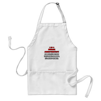 Funny Nurse Anesthetist .. Highly Unlikely Adult Apron