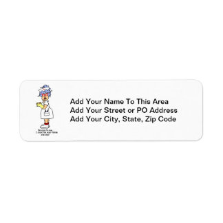 Funny Nurse Be Nice to Me T-shirts and Gifts Label
